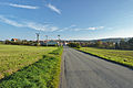 Pohled na obec ze severu, Kobylničky, Myslejovice, okres Prostějov.jpg