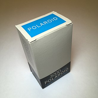 Polaroid Corporation - Polaroid 3000 Speed Type 47 Rollfilm Expired June 1962