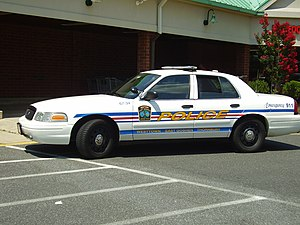 Police car for Westtown, East Goshen, and Thor...