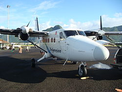 De Havilland Canada DHC-6 Twin Otter der Polynesian Airlines