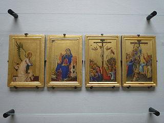 painting by Simone Martini