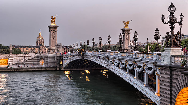 File:Pont Alexandre III, Paris July 2013.jpg