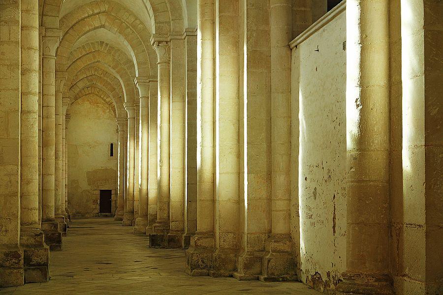 Collatérale de l'abbatiale de Pontigny