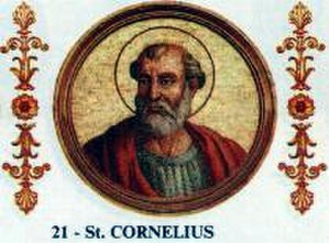 Pope Cornelius - Image: Pope Cornelius Outside The Walls