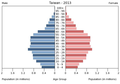Population pyramid of Taiwan 2013.png
