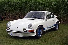 La Porsche 911 Carrera RS