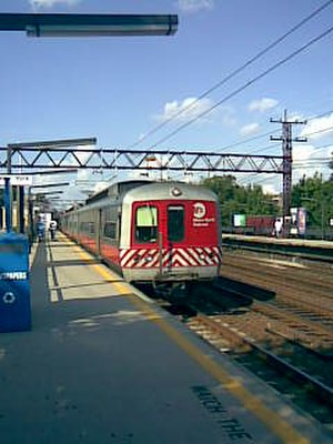 Port Chester (Metro-North station) - Image: Port Chester Metro North Railroad Station