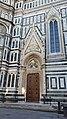 Porta della Mandorla-Santa Maria del Fiore (Florence) seen from the North.jpg