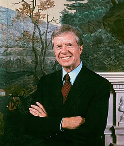 Portrait of Jimmy Carter by Ansel Adams (1979)