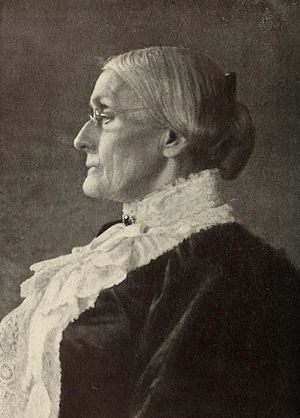 Susan B. Anthony Day - Susan B. Anthony in 1900
