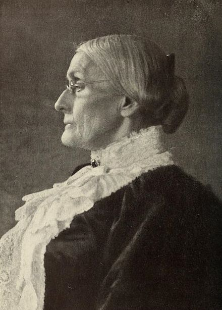 Susan B. Anthony in 1900 Portrait of Susan B. Anthony.jpg