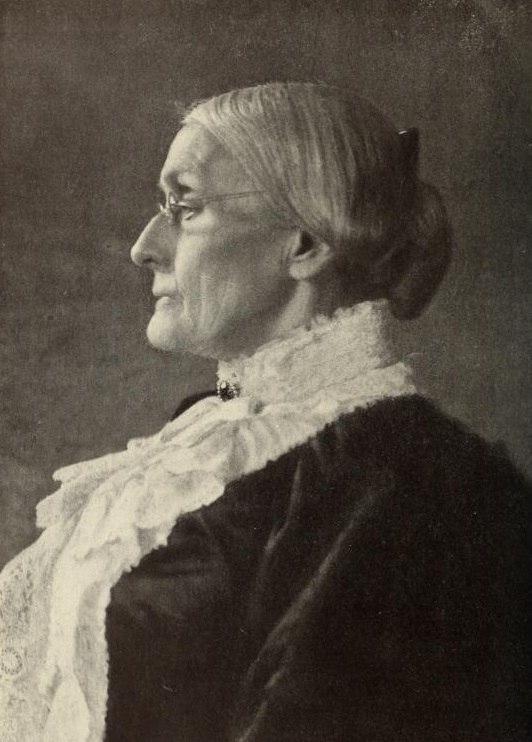 Portrait of Susan B. Anthony