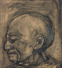 Portrait of a Crying Man