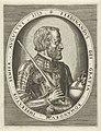 Portret van Ferdinand I van Habsburg, Duits keizer Portretten van koningen, koninginnen, prinsen en prinsessen (serietitel), RP-P-1881-A-4802.jpg
