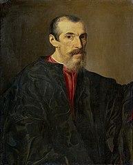Portrait of a man in Brescia