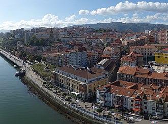 Portugalete - Portugalete from Vizcaya Bridge