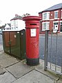 Post box on Rake Lane, Wallasey.jpg