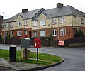 Postbox and houses, Mitchell Avenue - geograph.org.uk - 1605237.jpg