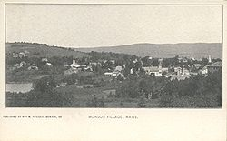 Monson Village, about 1905