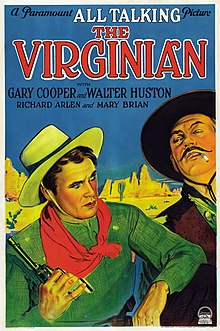 Description de l'image  Poster - Virginian, The (1929) 01.jpg.