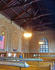 Poughkeepsie Train Station Interior
