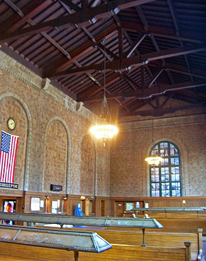 Poughkeepsie station - Waiting room