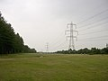 Power lines between the Dibden Inclosure and the Hythe by-pass, New Forest - geograph.org.uk - 32396.jpg