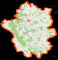Powiat garwoliński location map.png