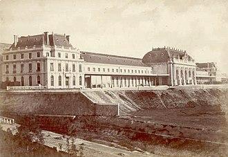 Louis-Jules Bouchot - Image: Pozzi, Pompeo (1817 1880) Milano Stazione Centrale, dopo 1864
