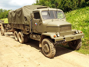 Military vehicle - Military truck Praga V3S produced in the former Czechoslovakia