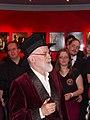 Praha, Divadlo v Dlouhé, Terry Pratchett s fanoušky.jpg
