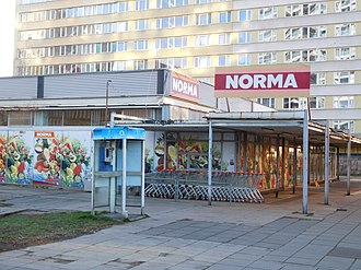 Norma (supermarket) - Norma store in Prague, Czech Republic