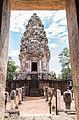 Prasat Sadok Kok Thom historic site at Sa Kaeo Province in Thailand.jpg