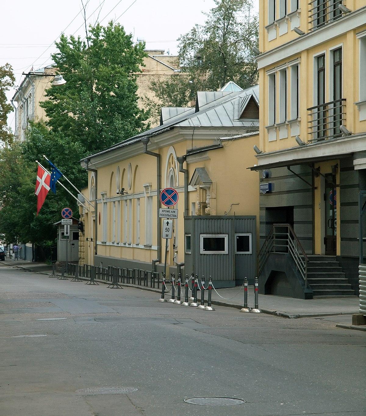 in denmark russian embassy