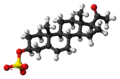 Pregnenolone sulfate anion ball.png