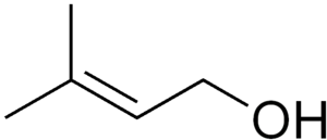 Prenol - Image: Prenol structure