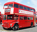Preserved Routemaster bus RM1000 (100 BXL), 2010 Cobham bus rally.jpg