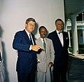 President John F. Kennedy Meets with Julius Kambarage Nyerere, Prime Minister of Tanganyika (03).jpg