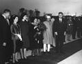 President John F. Kennedy and Others During Arrival Ceremonies for Jawaharlal Nehru, Prime Minister of India.jpg