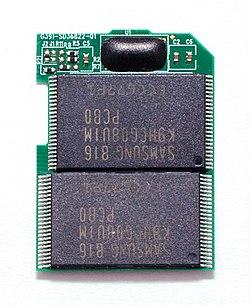 que son tarjetas de memoria flash