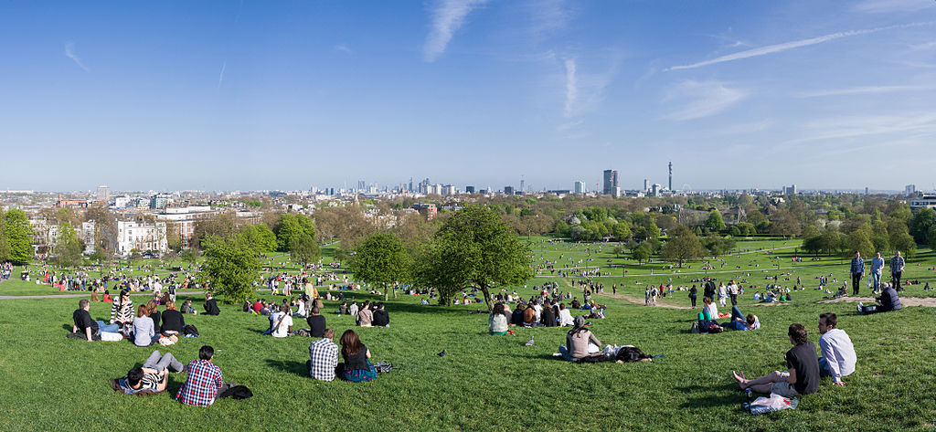 Panorama sur Londres depuis Primrose Hill - Photo de Diliff