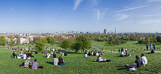 Primrose Hill - Image: Primrose Hill Panorama, London April 2011