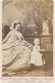 Princess George of Saxony (Infanta of Portugal) and Princess Elizabeth. April 1863.png