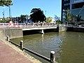 Prins Hindriksbrêge, Ljouwert, sjoen fanôf de Willemskade noardside.jpg