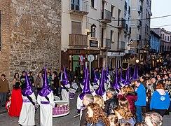 Procesión del Descendimiento de Nuestro Señor en Jueves Santo, Calatayud, España, 2018-03-28, DD 13.jpg