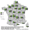 Production biologique brute ha bol bois fort tige IGN France 2004 2012.jpg