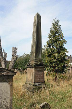 Adam Anderson (physicist) - Prof Adam Anderson's grave, Greyfriars Cemetery, Perth