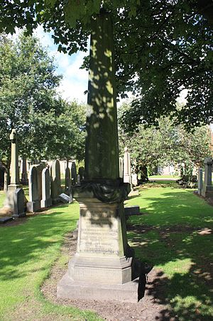 James Bannerman (theologian) - Prof James Bannerman's grave, Grange Cemetery, Edinburgh
