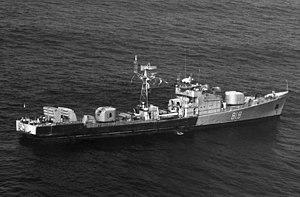 Mirka-class frigate - Image: Project 35 1986 2