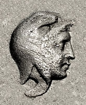 Prokles (Pergamon) - Portrait of Prokles, from his coinage, circa 400 BC